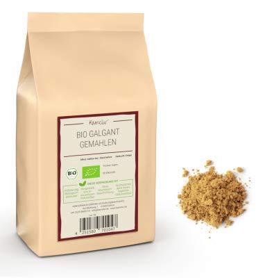 250g BIO Galgant Gewürz gemahlen - aromatisches BIO Galgant Pulver hergestellt aus der...