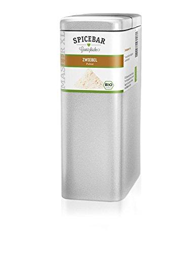 Zwiebelpulver (feines Granulat) in Premium Bio Qualität, 450g im Profi-Streuer