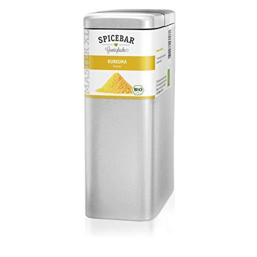 Kurkuma Pulver in Premium Bio Qualität, 450g in der Aromadose