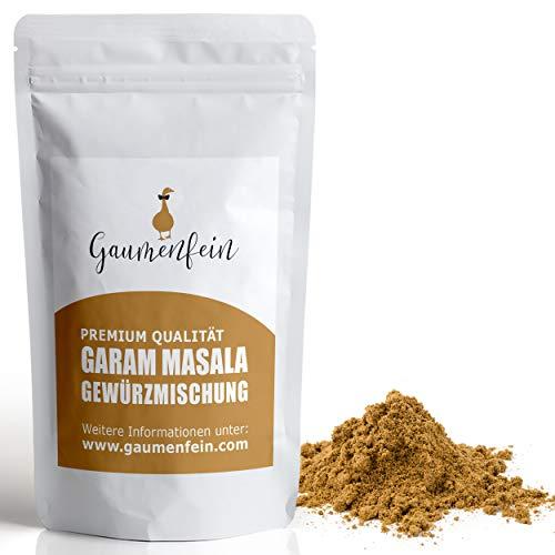 GAUMENFEIN® Garam Masala Pulver - Indische Gewürzmischung - 100% natürliche Premium Qualität -...
