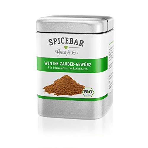 Spicebar | Winter Zauber Gewürz | Bio | Lebkuchen | Spekulatius | Weihnachtsbäckerei | 70g