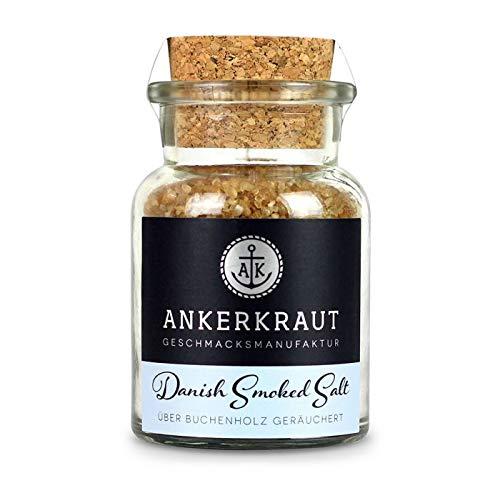 Ankerkraut Danish Smoked Salt, 160g im Korkenglas, dänisches Rauchsalz