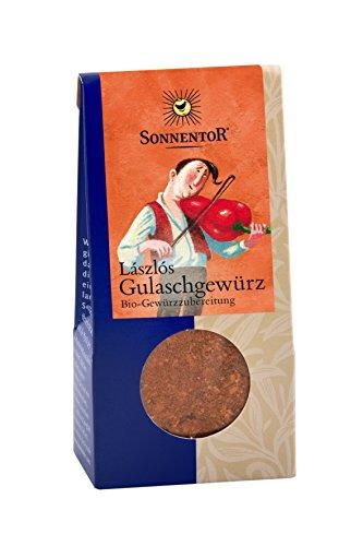 Sonnentor Laszlos Gulaschgewürz, 2er Pack (2 x 50 g) - Bio