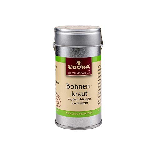 Premium Qualität Gewürz EDORA Streudose Streuer Bohnenkraut original Thüringer Gartenware 10...