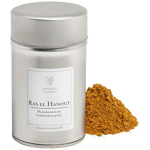Boomers Gourmet - Ras El Hanout, Marokkanische Gewürzmischung - Gewürzdose 11,5 cm - 120 g