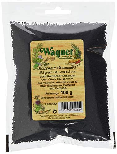Wagner Gewürze Schwarzkümmel Samen aromatisches Gewürz für Brot, Kartoffeln, Gemüse &...