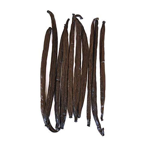 Native Vanilla Bourbon-Vanilleschoten - 10 17-22 cm Vanilleschoten aus ganzen Schoten - Für Köche...