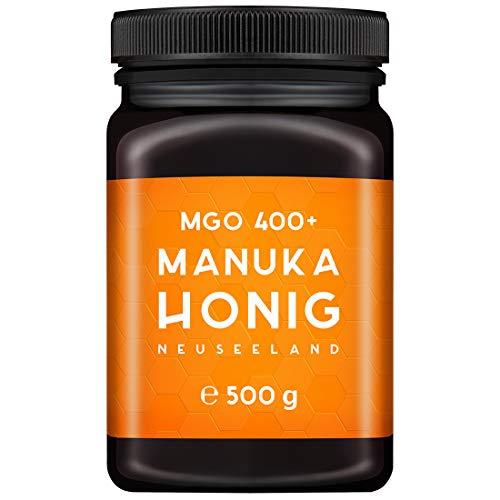 MELPURA Manuka-Honig MGO 400+ 500g aus Neuseeland mit zertifiziertem, natürlichem...