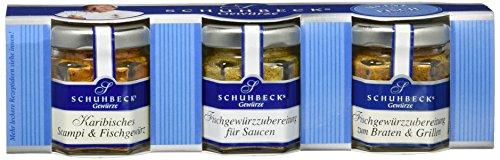 Schuhbeck 3er Set 'Meine Fischküche', 1er Pack (1 x 65 g)