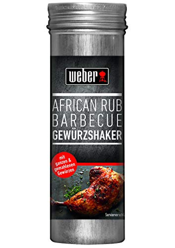 Weber African Rub BBQ Gewürzshaker, 80 g