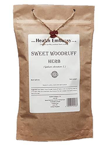 Health Embassy Waldmeister Kraut Tee (Galium Odoratum L) / Sweet Woodruff Herb Tea, 50g