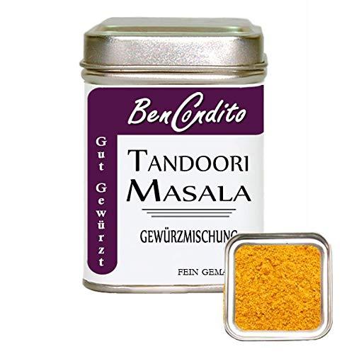 BenCondito -Tandoori Masala Gewürz - Indische Masala Gewürzmischung 80 gr