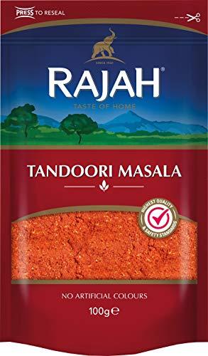 Rajah Tandoori Masala – Indische Gewürzmischung für zahlreiche Gerichte – 1 x 100 g