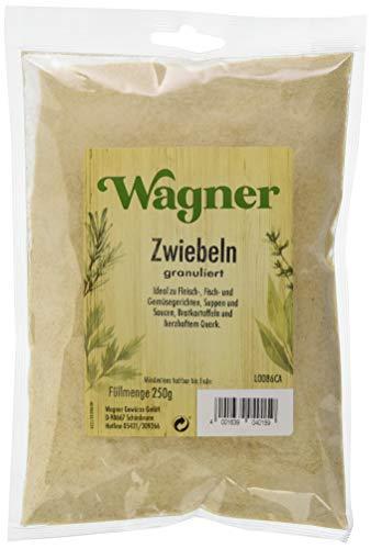 Wagner Gewürze Zwiebeln granuliert 1er Pack Zwiebelpulver für Fleisch, Fisch, Gemüse & vieles...