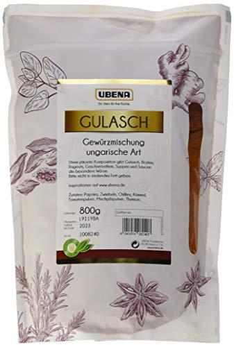 UBENA Gulasch Gewürzmischung ungarische Art im wiederverschließbaren Vorratsbeutel, 1er Pack (1 x...