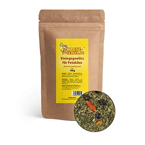 kaese-selber.de Einlegegewürz für Fetakäse 100 g