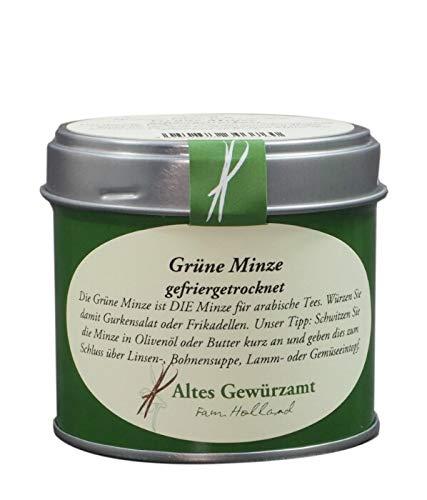 Altes Gewürzamt Gewürz Grüne Minze gefriergetrocknet, 8 Gramm - Ingo Holland