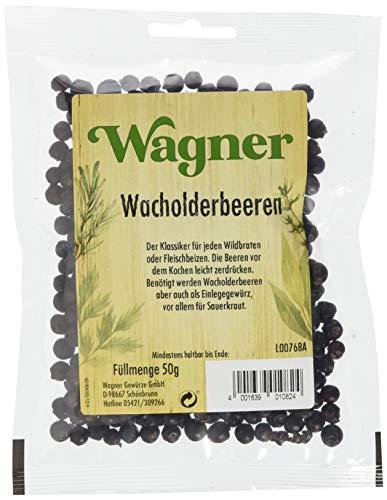 Wagner Gewürze Wacholderbeeren (1 x 50 g)