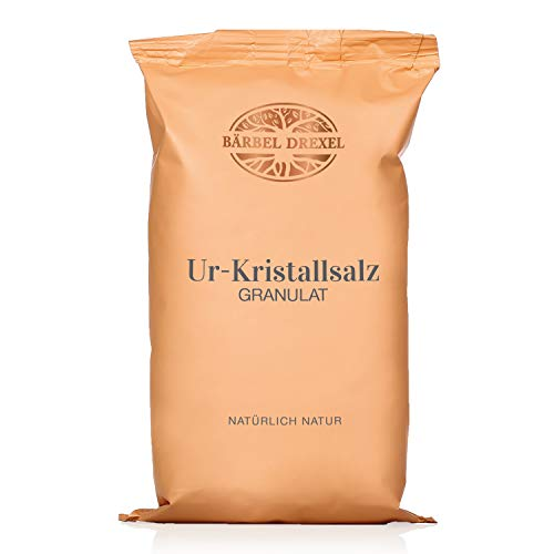 BÄRBEL DREXEL® Rosa Kristallsalz (Tiefebenen Rand Himalaya) Grob, Granulat, Mühlensalz, Natursalz...