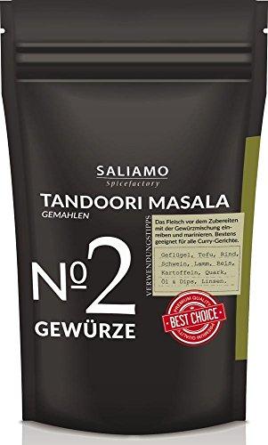 Tandoori Masala Gewürzmischung, gemahlen, Indisches Gewürz intensiv-würzig, geeignet für...