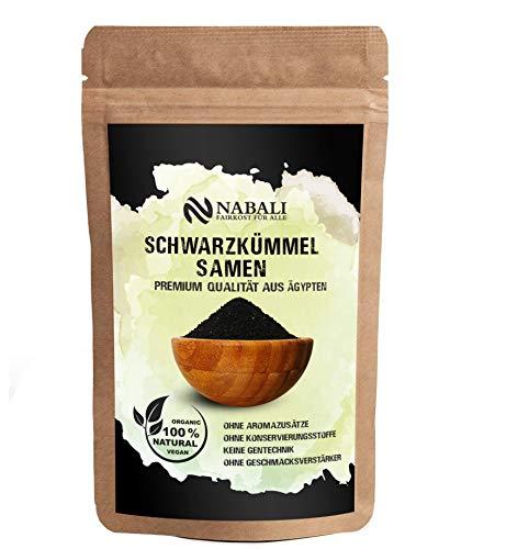 NABALI FAIRKOST FÜR ALLE Ägyptische Schwarzkümmel-Samen Qualitätsware 100g - 100% naturell vegan...