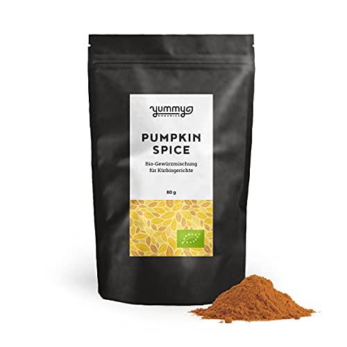 Pumpkin Spice Bio-Gewürzmischung für Kürbisgerichte, 80g Beutel | fair gehandelt, von Hand...