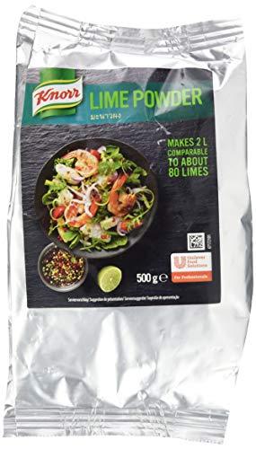 Knorr Asia Lime Powder (Zubereitung mit Limettengeschmack, die Alternative zu frischen Limetten,...