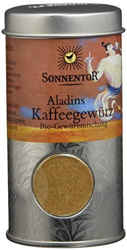 Sonnentor Aladins Kaffeegewürz Streudose, 1er Pack (1 x 35 g) - Bio