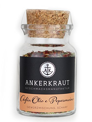 Ankerkraut Aglio, Olio e Peperoncino, 55g im Korkenglas