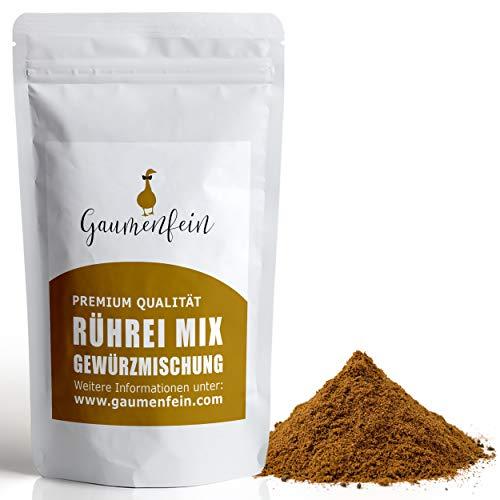 GAUMENFEIN® Rührei Gewürzmix Gemahlen - Gewürzmischung - 100% natürliche Premium Qualität -...