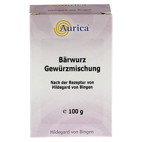 Aurica Bärwurz Gewürzmischung nach der Rezeptur von Hildegard von Bingen, 100 g Pulver