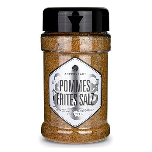 Ankerkraut Pommes Frites Salz, Pommes Gewürz, für Pommes und viele weitere Kartoffelgerichte, 270g...