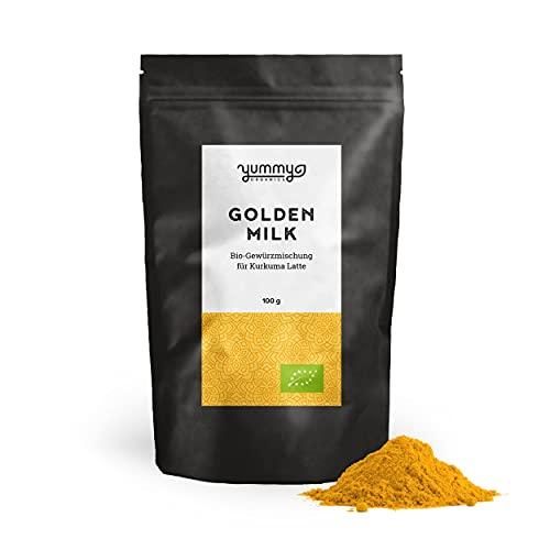 """Yummy Organics """"Golden Milk"""" 100 g / Bio Goldene Milch Pulver / Goldene Milch fair gehandelt &..."""
