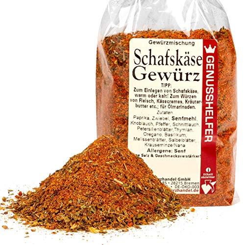 Schafskäse Gewürz 100 Gramm gerebelt - Gewürzmischung für Feta, ohne Zusatzstoffe & ohne...