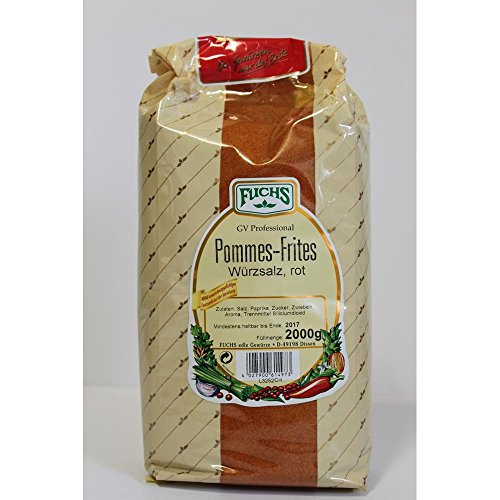 Fuchs Pommes Frites Salz rot 2kg