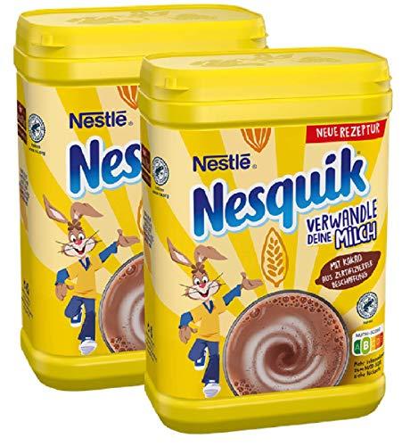 Nestlé NESQUIK kakaohaltiges Getränkepulver, 2er Pack (2 x 900g)