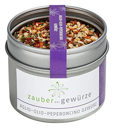 Aglio-Olio-Peperoncino Gewürzmischung - Spaghetti Gewürzmischung, Nudelgewürz, italienische...
