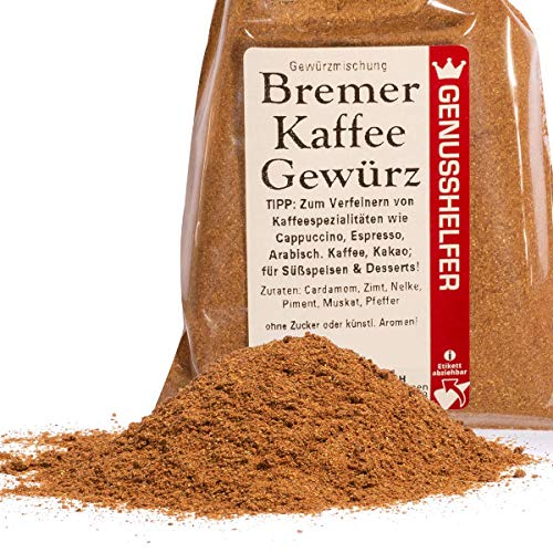 Bremer Gewürzhandel - Kaffee-Gewürz 50 Gramm gemahlen - Gewürz für Kaffee, Tee oder Kakao - ohne...