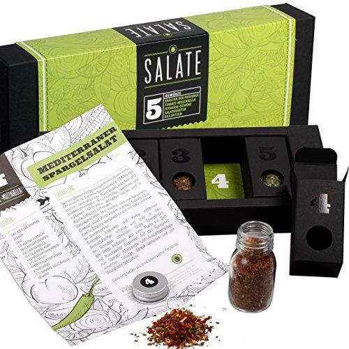 Salatgewürze – MeinGenuss Gewürzset Salate – Das perfekte Geschenkset für Geniesser –...
