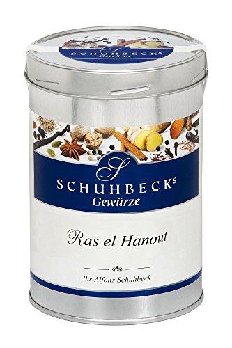 Schuhbecks Gewürze Ras el Hanout arabische Gewürzmischung, für Fisch, Fleisch, Geflügel, Gemüse...