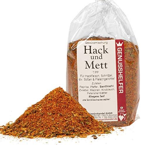 Hack- und Mettgewürz Frikadellen Gewürzmischung 100 Gramm gemahlen, ohne Geschmacksverstärker &...