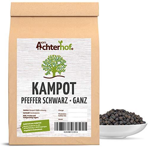 100 g Kampot-Pfeffer schwarz Kampotpfeffer schwarze Pfefferkörner aus Kambodscha für die...