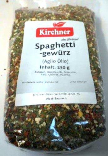 1a Kirchner Gewürze 49678 AGLIO OLIO - Spaghetti Pasta Nudel Gewürz ohne Glutamat ---...