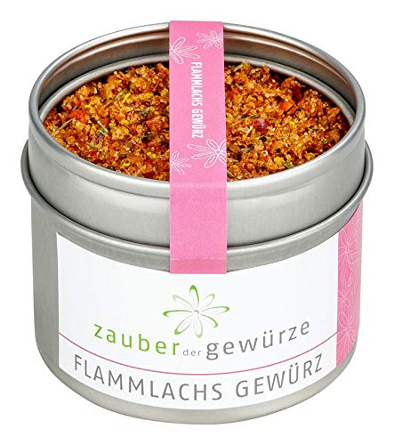 Flammlachs Gewürz, BBQ Rub Lachs, Fischgewürz, aromatisches Grillgewürz für Flammlachs, Fisch...