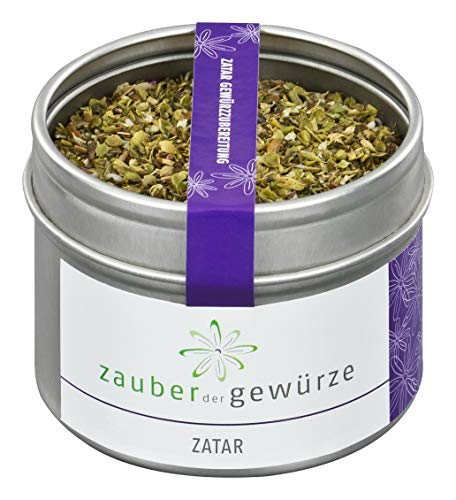Zauber der Gewürze Zatar - Gewürzzubereitung in Premium-Qualität - Nordafrikanisches Gewürz in...