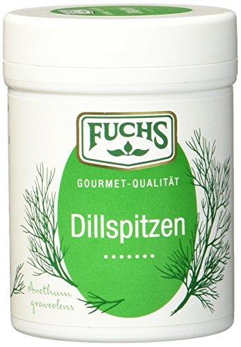 FUCHS Dillspitzen, getrocknete Dillspitzen als erfrischendes Gewürz im Dreierpack (aromatische...