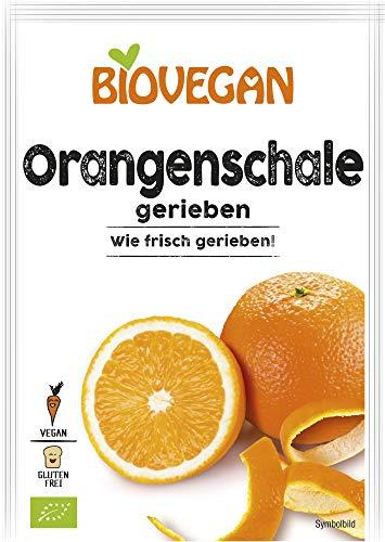 Biovegan Bio Orangenschale gerieben, BIO (2 x 9 gr)