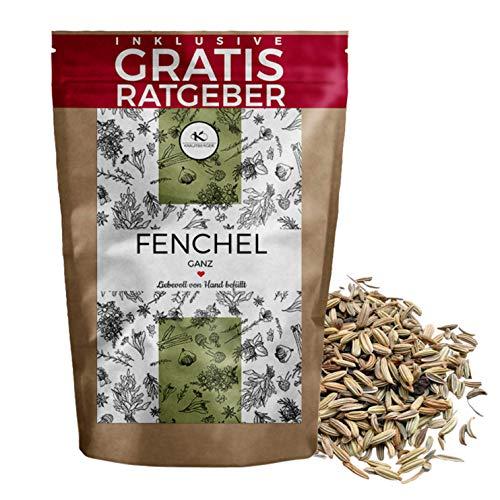 Fenchel Fenchelsamen ganz 250g I Fenchelsaat Gewürzfenchel aus Ägypten inkl. gratis Ratgeber I...