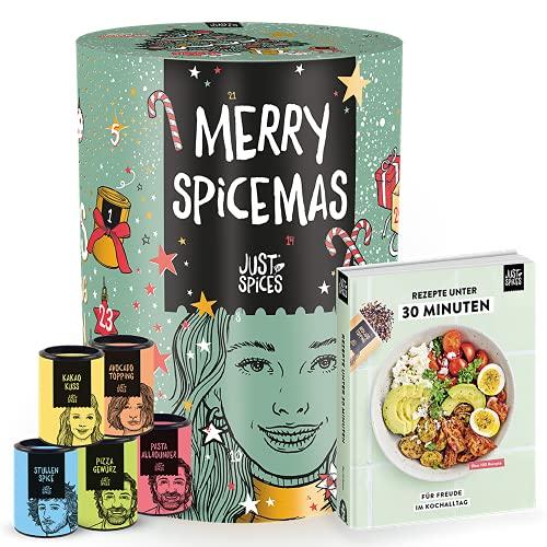 Just Spices Gewürz Adventskalender 2021 I Weihnachtskalender mit 24 Gewürzmischungen + brandneues...