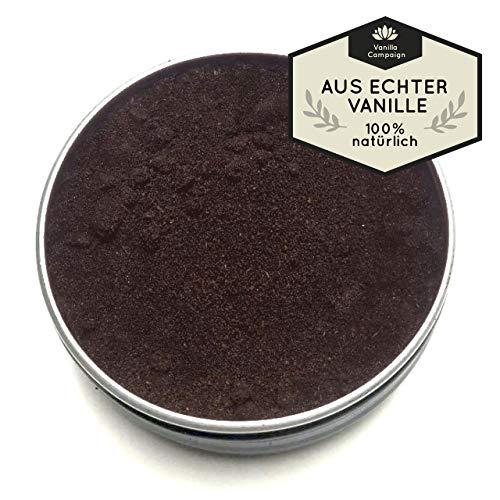 Vanilla Campaign, Gourmet Vanillepulver 40g, Premium Pulver aus 100% echten Vanilleschoten,...